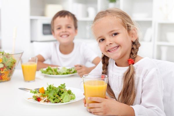 رژیم غذایی کودک، غذای مقوی کودکان