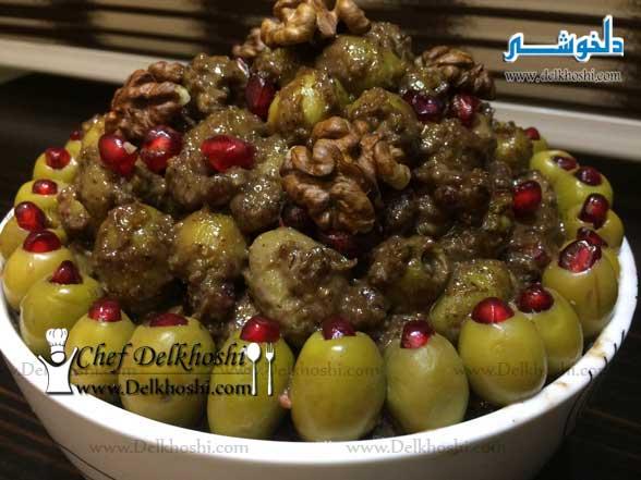 طرز تهیه زیتون پرورده خانگی خوشمزه و اصیل - Delkhoshi.com