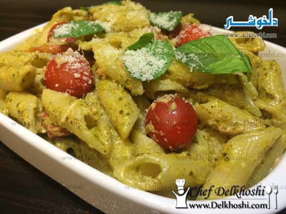 creamy-pesto-penne-pasta-recipe