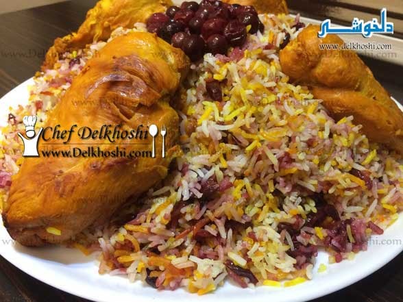 Albaloo-Polo (Rice-with-Sour-Cherries)-10
