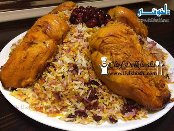 Albaloo-Polo (Rice-with-Sour-Cherries)-11