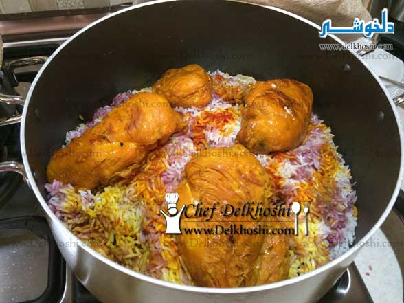 Albaloo-Polo (Rice-with-Sour-Cherries)-9