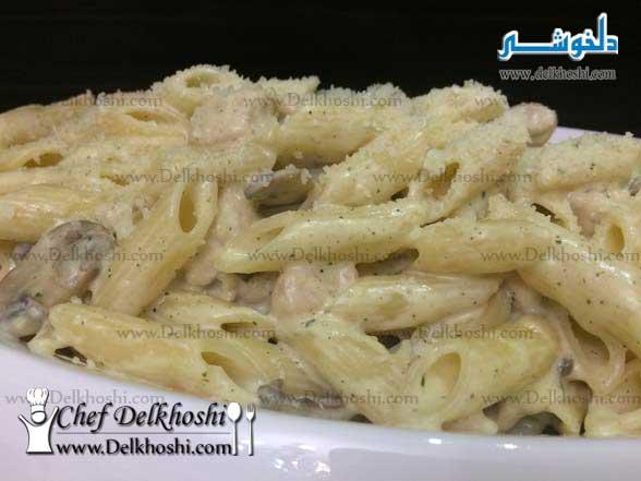 chicken-alfredo-penne pasta-16