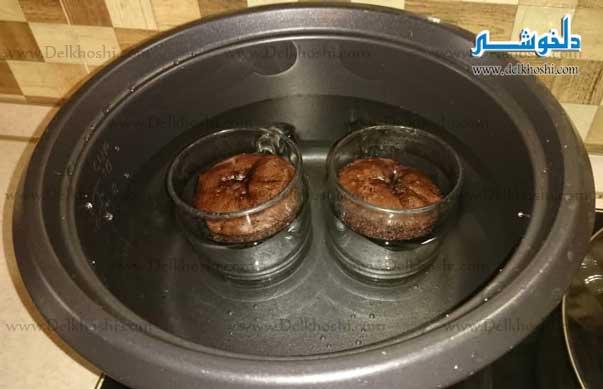 کیک خیس، کیک فنجونی