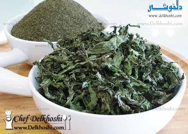 dry-mint-leaf