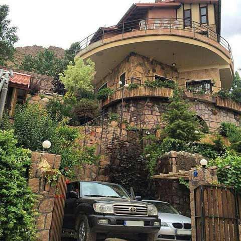 عکس خانه های ثروتمندان تهران