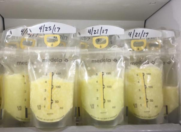 بانک شیر، تغذیه با شیر مادر